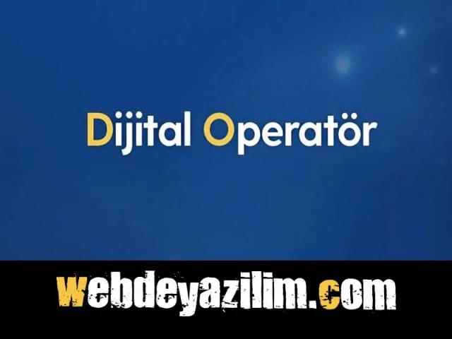 dijital operatör