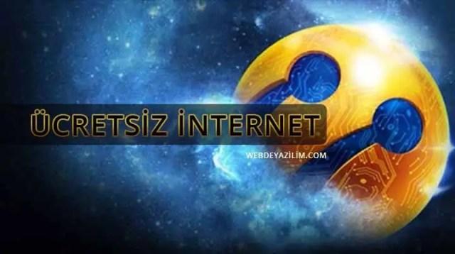 Turkcell Ücretsiz İnternet