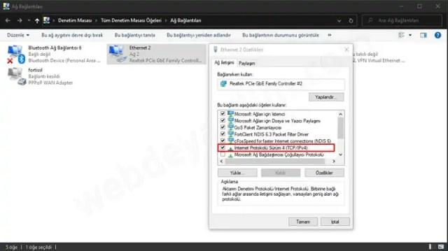 Windows 10 OpenDNS Yapılandırması