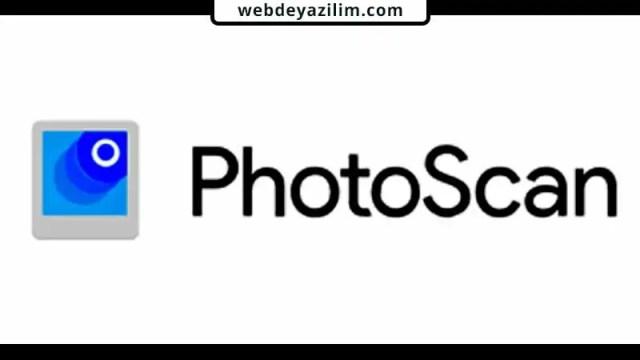 Google PhotoScan Belge Tarama Uygulaması