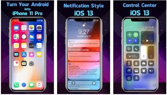 android için En iyi iphone launcher