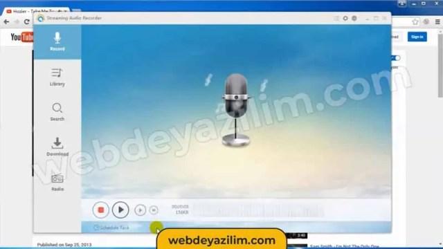 Bilgisayarda Ortam Sesi Kaydetme Programı