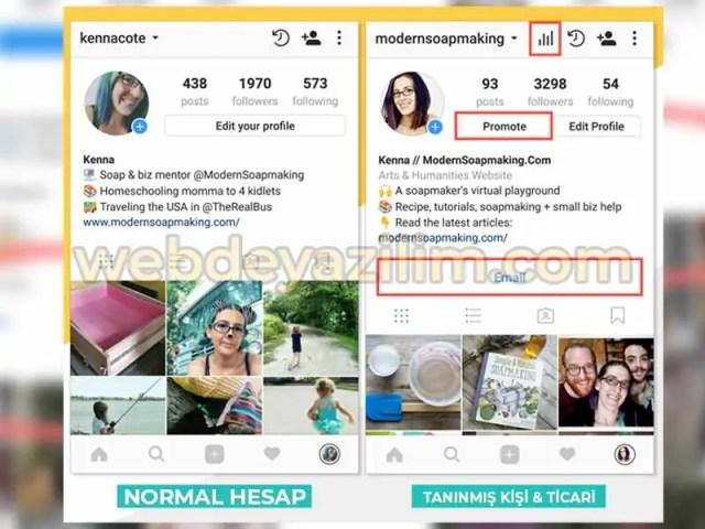 Instagram Tanınmış Kişi Nasıl Yapılır