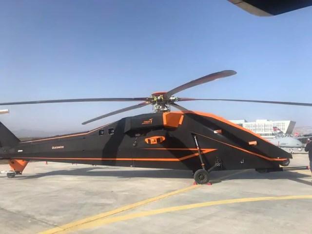 TUSAŞ İnsansız Helikopter projesi