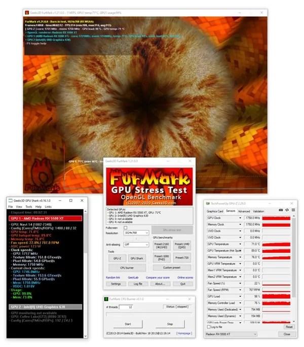 FurMark Test Programi