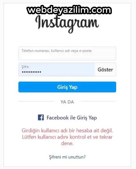 Instagram Hesabının Çalındığı Nasıl Anlaşılır?