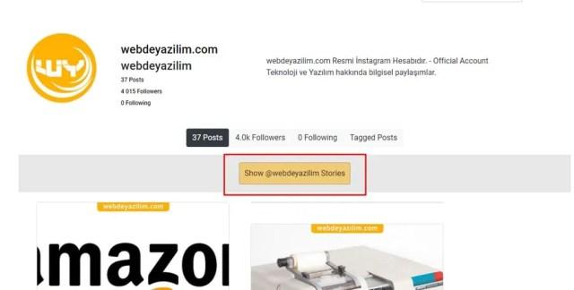 instagram gizlice hikayeye bakma yöntemi