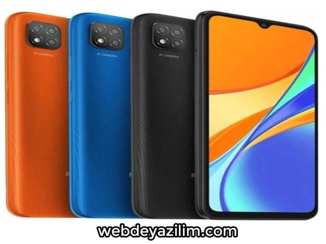 Xiaomi Redmi 9c Modeli