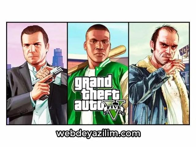 GTA 5 Karakter Değiştirme