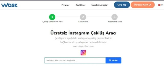 instagram çekiliş sitesi