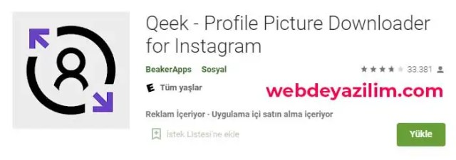 instagram profil resmi indirme