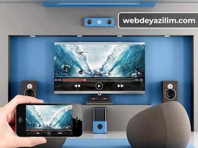 Telefondan Televizyona Görüntü Aktarma