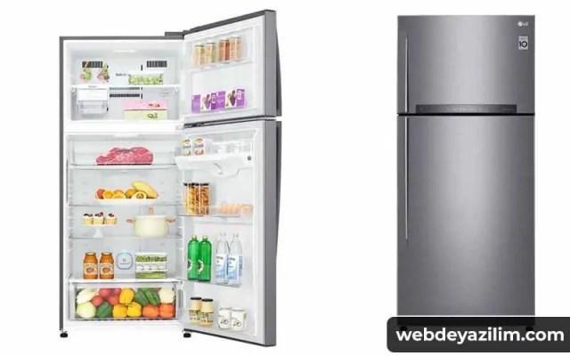 LG GN-H702HLHU A++Çift Kapılı No-Frost Buzdolabı