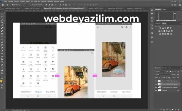 görsel birleştirme photoshop