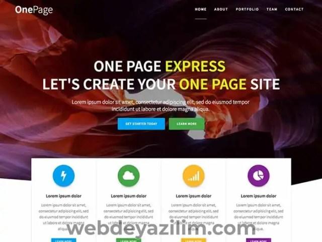 OnePageExpress