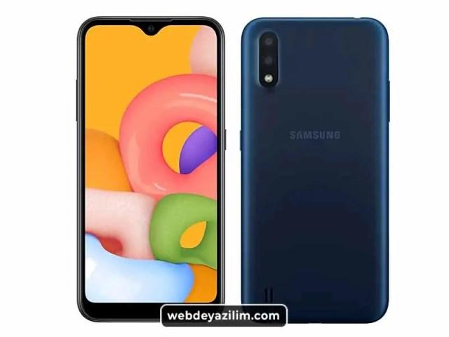 Samsung Galaxy A01 - En Ucuz Telefonlardan Biri