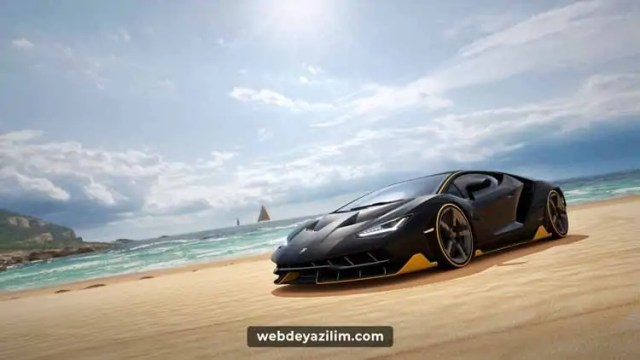 Süper arabaların yarışı
