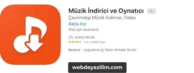 iOS için en iyi YouTube MP3 İndirme Programı