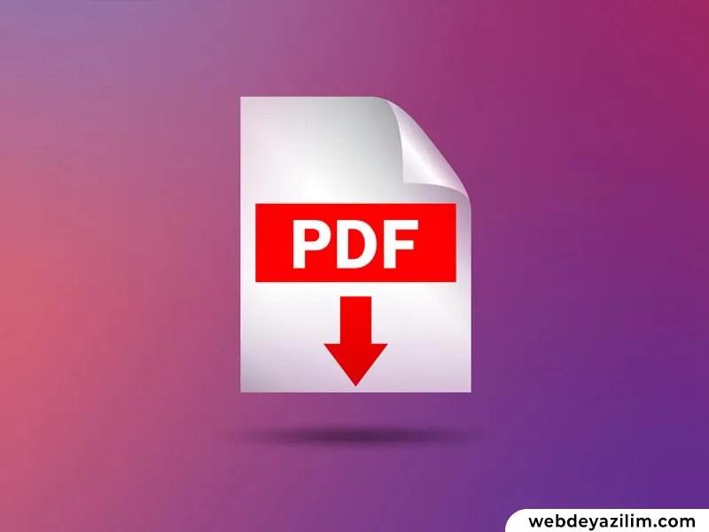 PDF Nasıl Yapılır? Bilgisayarda PDF Oluşturma Rehberi