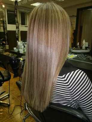 Частое мелирование на темные волосы: фото до и после ...