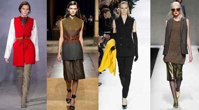 Модные женские жилетки 2018, фото: меховые, вязаные ...