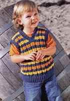 Как связать своими руками жилетку для мальчика на 1-3 года ...