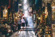 Fotografieren auf Märkten
