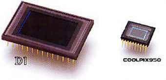 Sensor Größenvergleich Nikon FX DX