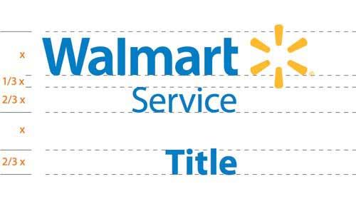 Izrada vizualnog identiteta Wallmart