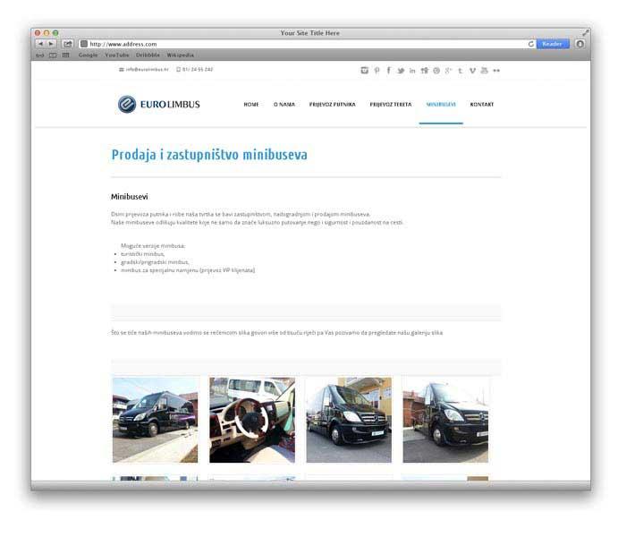 Izrada internet stranica Eurolimbus