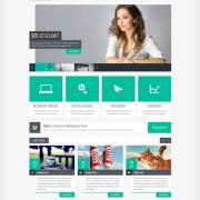 internetska stranica flat dizajna