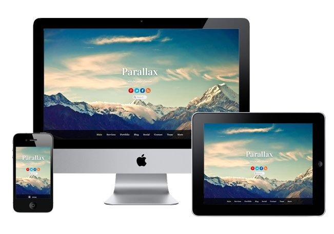 Internetske stranice u parralax dizajnu