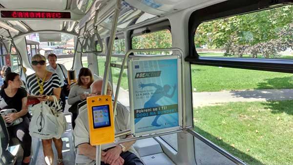 oglašavanje u tramvaju