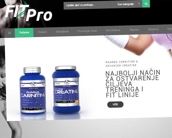 Fitpro online trgovina