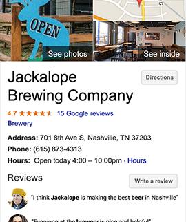 vaša tvrtka na google maps