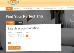 site za stranu turističku agenciju
