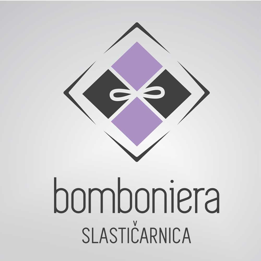 Logotip za Slastičarnicu Bomboniera