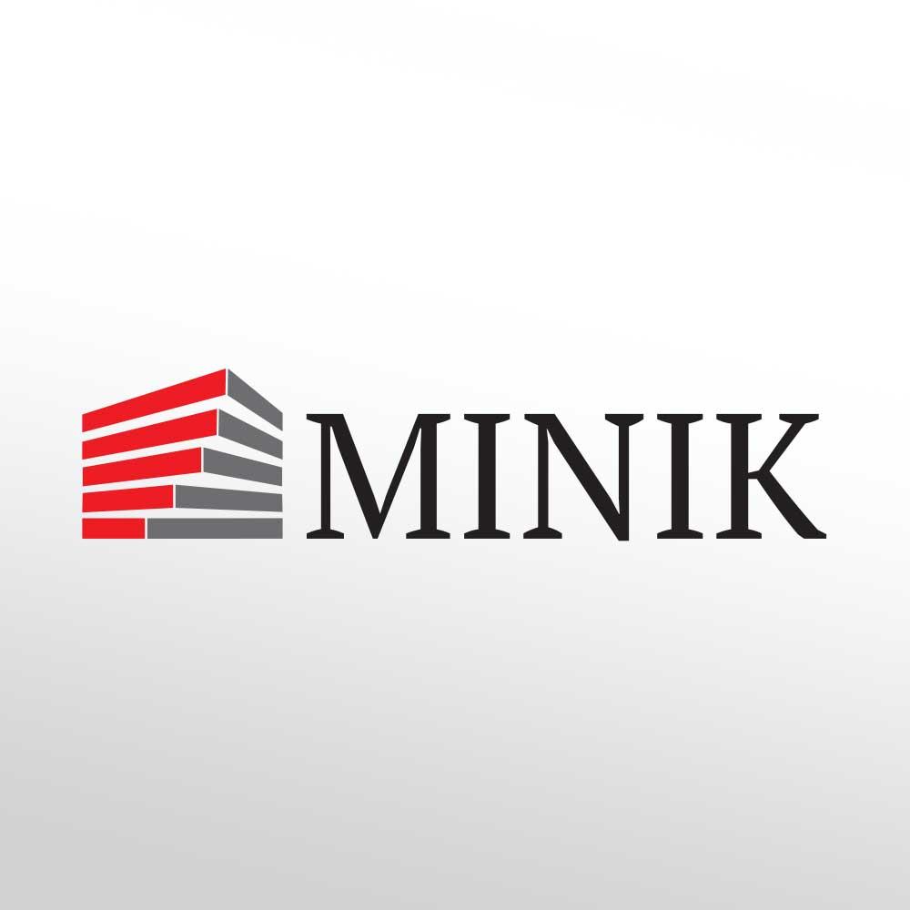 Logotip za MINI tvrtku za arihtekturu i građevinu