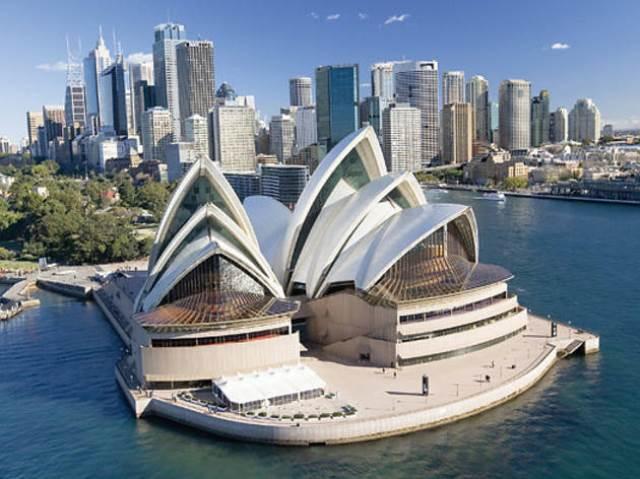 Du lịch tìm hiểu ba công trình kiến trúc nổi tiếng của Úc