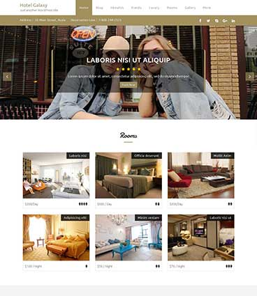 Premium WordPress themes for your website Hotel Galaxy Pro hotel galaxy 365 425   Premium Themes WordPress Themes