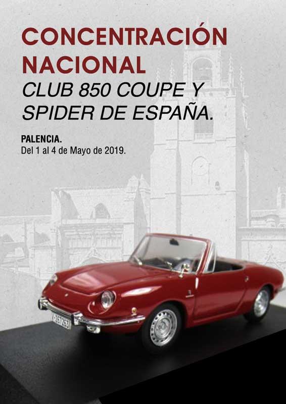 Concentración nacional Club 850 Coupé y Spider de España 2019