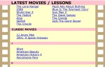 , Lessons on Movies, WebEnglish.se