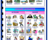 Holidays and Leisure Activities Worksheet