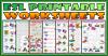 Hobbies ESL Printable Worksheets and Exercises