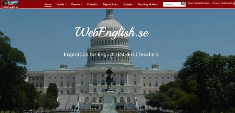 New WebEnglish.se Beta