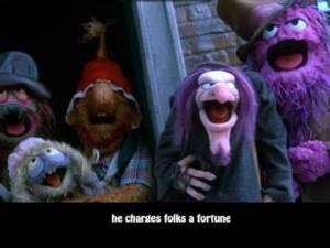 Scrooge | The Muppet's Christmas Carol [Lyrics] - YouTube