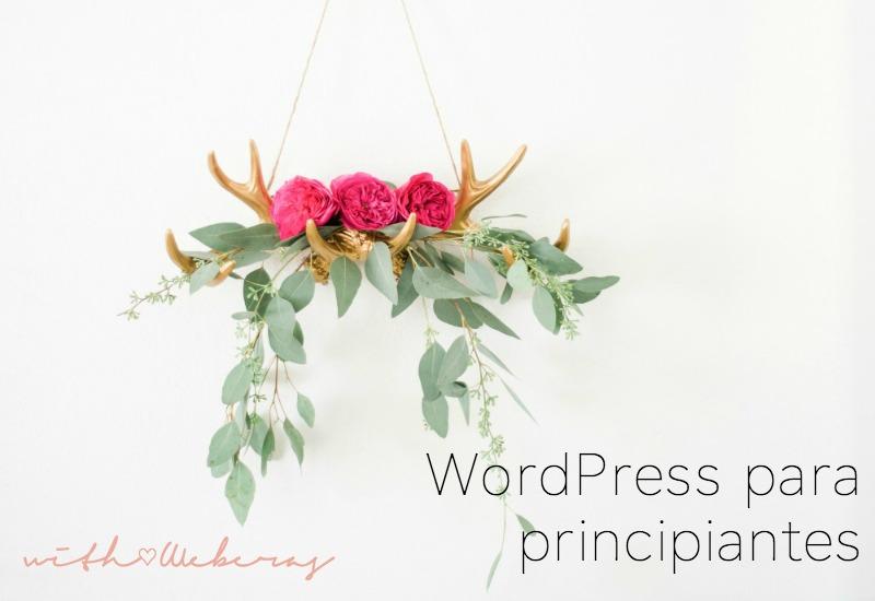 WorPress para principiantes