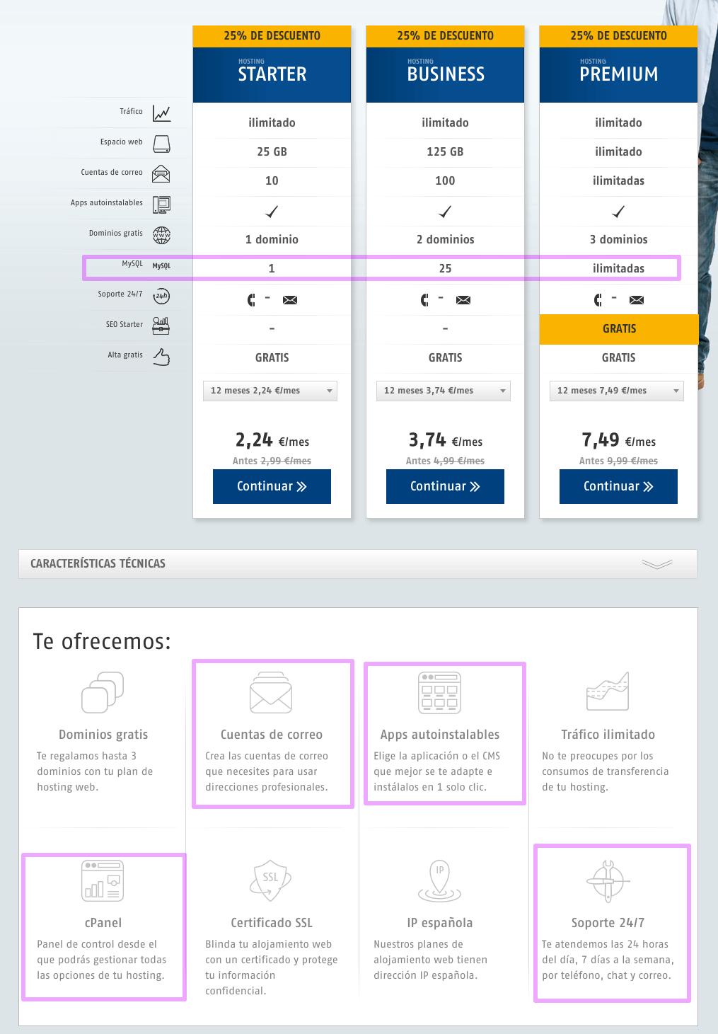 cómo elegir un servidor