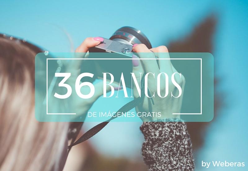 36 bancos de imágenes gratis