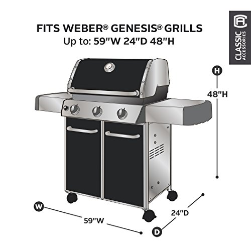 Classic Accessories 73912-WB Veranda Grill Cover fits the Weber Genesis
